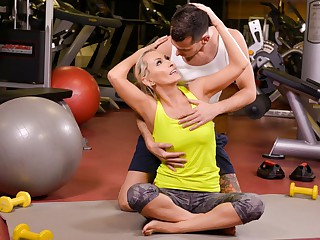 Szandi & John Price in A Very Personal Trainer, Scene #01 - 21Sextreme