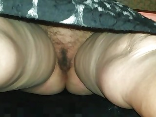 Under the skirt of my mother in law
