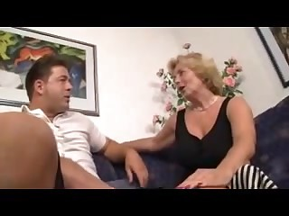German Granny Gets Fucked